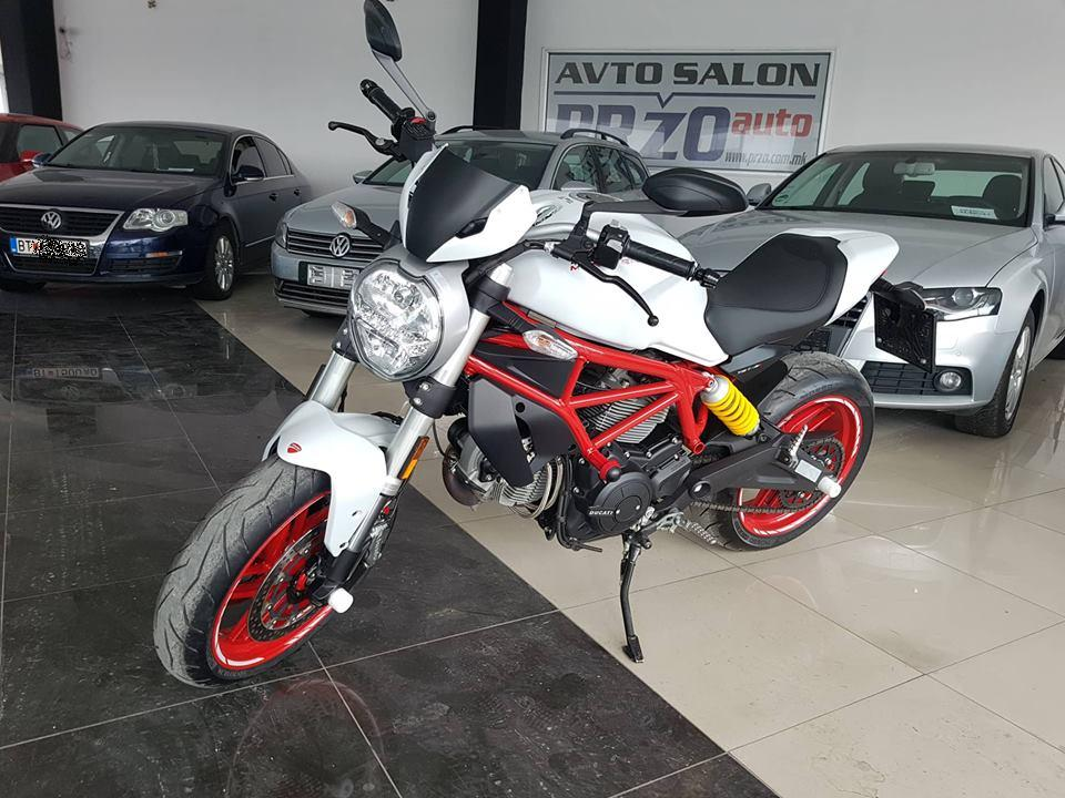 DUCATI MONSTER 797 + PLUS Avtosalon Przo
